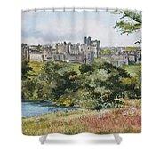 Alnwick Castle Shower Curtain