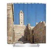 Aleppo Citadel In Syria Shower Curtain