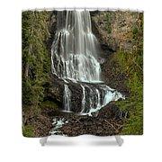 Alexander Falls - Whistler Bc Shower Curtain