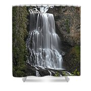 Alexander Falls - Whistler British Columbia Shower Curtain