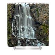 Alexander Falls Recreation Site - Whistler Bc Shower Curtain