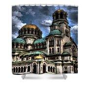 Alexander Nevski Cathedral Shower Curtain