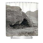 Alexander Selkirk Cave Shower Curtain