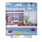 Alexanders Place Shower Curtain