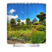 Alexandra Park Penarth Shower Curtain