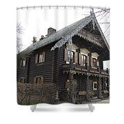 Alexandrowka - Russian Village - Potsdam Shower Curtain