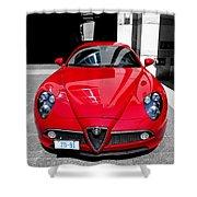 Alfa Romeo 1c Shower Curtain