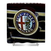 Alfa Romeo Badge Shower Curtain