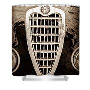 Alfa Romeo Milano Grille Emblem Shower Curtain