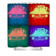 Alfa Romeo  Pop Art 1 Shower Curtain