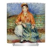 Algerian Girl Shower Curtain