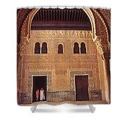 Alhambra Courtyard Shower Curtain