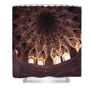 Alhambra Sculpted Domed Ceiling Shower Curtain
