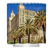 Alhambra Towers - 2 Shower Curtain