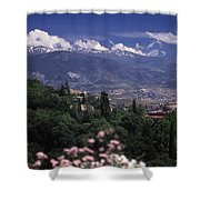 Alhambra View Shower Curtain