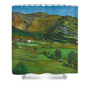 Alhustunet. Jolster Shower Curtain