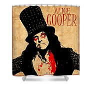 Alice Cooper 1 Shower Curtain