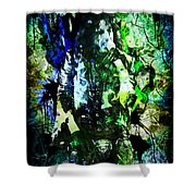 Alice Cooper - Feed My Frankenstein - Original Painting Print Shower Curtain