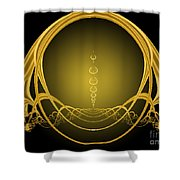 Alice Let Your Light Shine Shower Curtain