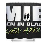 Alien Attack Shower Curtain