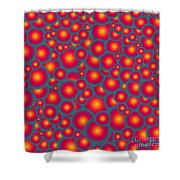 Alien Eggs Shower Curtain