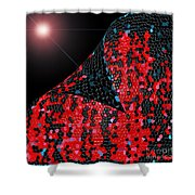 Alien Skin Shower Curtain