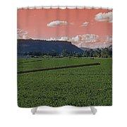 Alien Sky Over Table Rock Shower Curtain