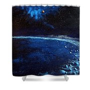 Alien Storm Shower Curtain