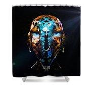 Alien Wise Man Shower Curtain