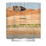 Alien Wreckage - Lake Powell Shower Curtain