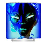 Alienated Shower Curtain