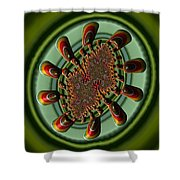 Aliens Feeding Phone Cases And Cards Shower Curtain