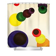 Aligning Strategy Shower Curtain