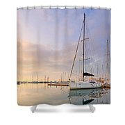 Alimos Reflections Shower Curtain