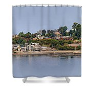 Alki Point Shower Curtain