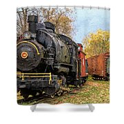 All Aboard Shower Curtain