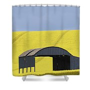 All Across The Land 4 Shower Curtain