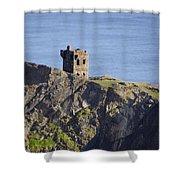 All Along The Watchtower - Bunglass Donegal Ireland Shower Curtain