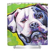 All American Bully Shower Curtain