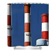 All American Industry Shower Curtain