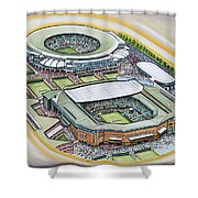 All England Lawn Tennis Club Shower Curtain