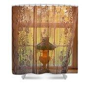 Lamp Light Glow II Shower Curtain