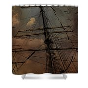 All I Ask Is A Tall Tall Ship Shower Curtain