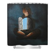 All Is Within Shower Curtain