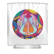 All Knowledge Is Within You Shower Curtain
