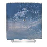 Hot Air Balloons Findlay Ohio Shower Curtain