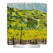 All Most Harvest Time Shower Curtain