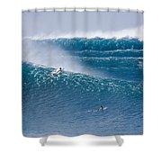All Pistons Firing. Shower Curtain by Sean Davey