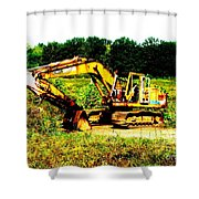 All Ready For Duty IIi Shower Curtain by Kip DeVore