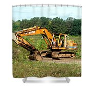 All Ready For Duty Shower Curtain by Kip DeVore
